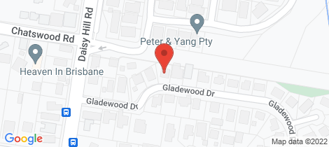 Location map for 12 Gladewood Drive Daisy Hill