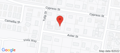 Location map for 17 Aster Street Yamanto