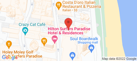 Location map for 74/19 Orchid Avenue Surfers Paradise