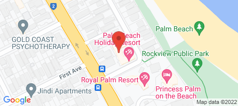 Location map for 27/14 Jefferson Lane Palm Beach