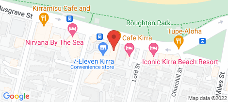 Location map for 16/48 Musgrave Street Kirra