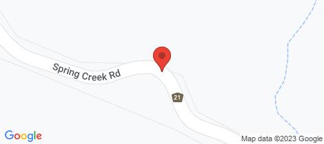 Location map for 1503 Spring Creek Road Killarney