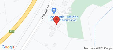 Location map for 27 McKillop Lane Stanthorpe
