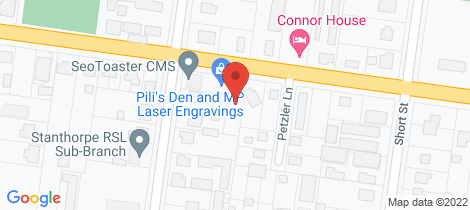 Location map for 4/29 Connor Street Stanthorpe