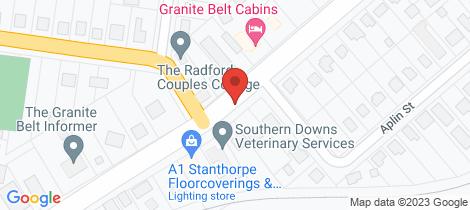 Location map for 1 Kriedemann Road Glen Aplin