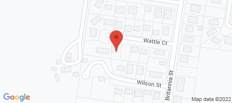 Location map for 9 Wattle Court Stanthorpe