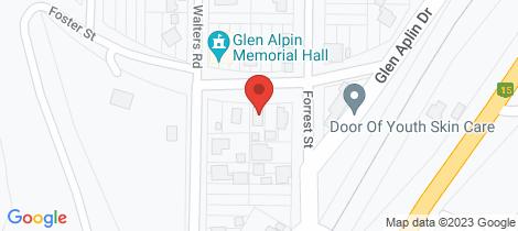 Location map for 11 Foster Street Glen Aplin