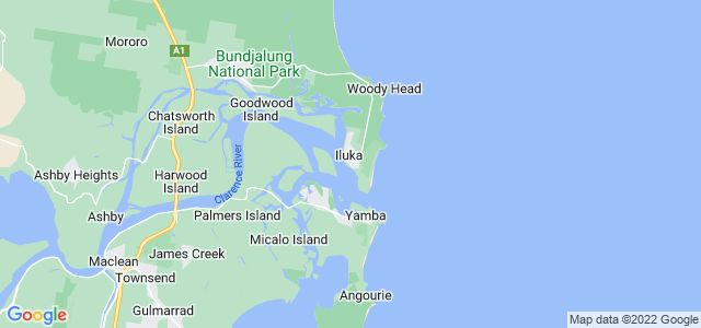 how to get to iluka from yamba
