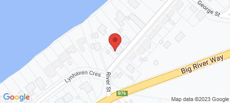 Location map for 47 River Street Ulmarra