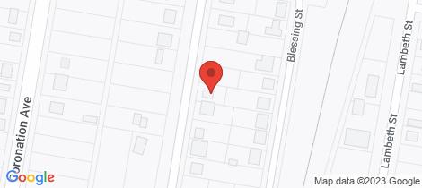Location map for 25 Mossman St Glen Innes