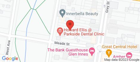 Location map for 9/53 East Avenue Glen Innes