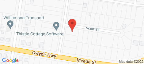 Location map for 7 Veness Street Glen Innes