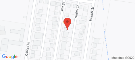 Location map for 45 Pitt Street Glen Innes