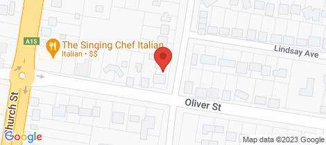 Location map for 70 Oliver Street Glen Innes