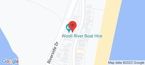 Location map for 149 Main Street Wooli