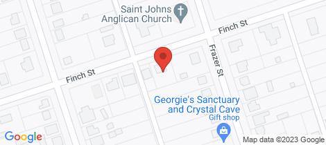 Location map for 68 Finch Street Bingara