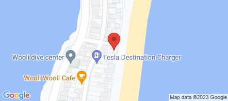 Location map for 54B Main Street Wooli