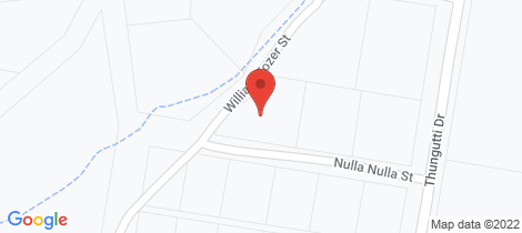 Location map for 13 Nulla Nulla Street Bellbrook