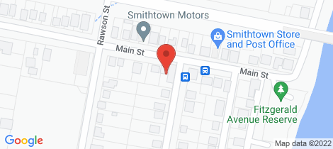 Location map for 12 Main Street Smithtown