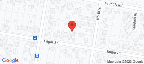 Location map for 2/71 Edgar Street Frederickton