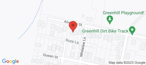 Location map for 48 Alverton Street Greenhill
