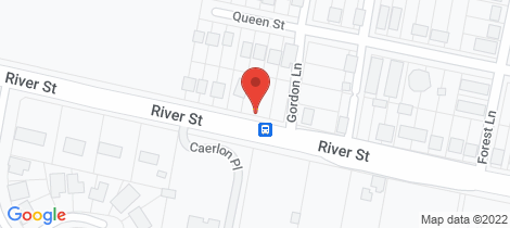 Location map for 303 River Street Greenhill