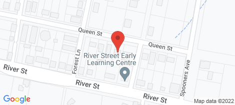 Location map for 16 Queen Street Greenhill