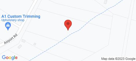 Location map for 14 Airport Road Aldavilla