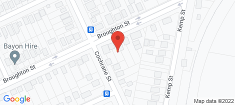 Location map for 93 Broughton Street West Kempsey