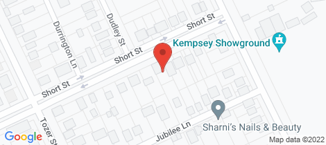 Location map for 33 Short Street West Kempsey