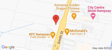 Location map for 96 Smith Street Kempsey