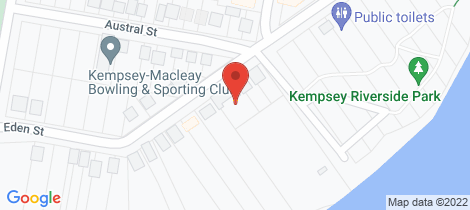 Location map for 5/5-7 EDEN STREET Kempsey