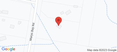 Location map for 285 Marys Bay Road Euroka