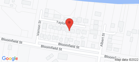 Location map for 9 Taylor Street South Kempsey