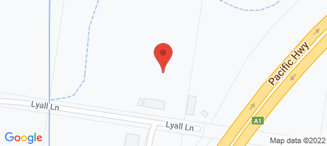 Location map for 26 Lyall Lane South Kempsey