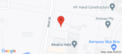 Location map for 81 West Street Kempsey