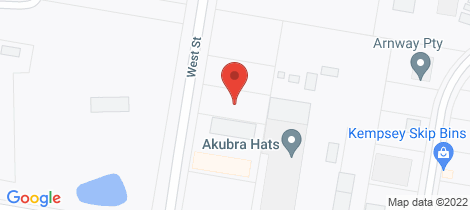 Location map for 83 West Street Kempsey