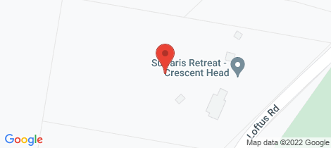 Location map for 271 Loftus Road Crescent Head