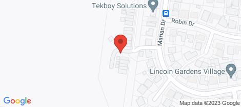 Location map for 8/1 Little John Lane Port Macquarie