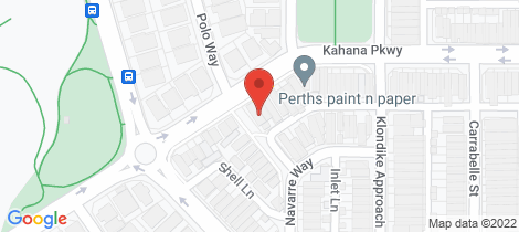 Location map for 62a Kahana Parkway Butler