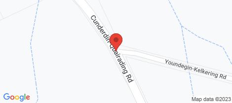 Location map for 9606 Cunderdin - Quairading Road Cunderdin