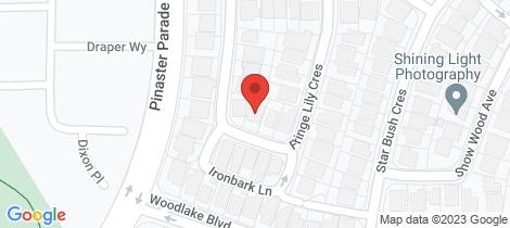Location map for 15 Fringe Lily Crescent Ellenbrook