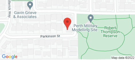 Location map for 19A Parkinson Street Noranda
