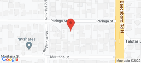 Location map for 15A Paringa Street Morley