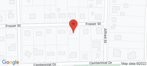 Location map for 9 FRASER STREET, York
