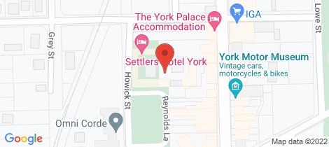 Location map for 30/125 Avon Terrace York