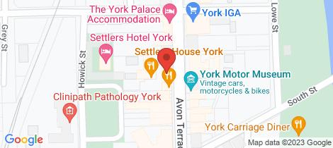 Location map for 73/Lot 75/125 Avon Terrace York York