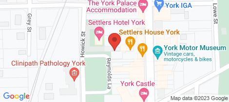 Location map for Lot 37/125 AVON TERRACE York