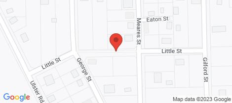 Location map for 6 LITTLE STREET York