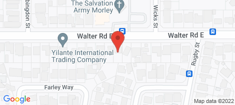 Location map for 554 Walter Road East Bayswater